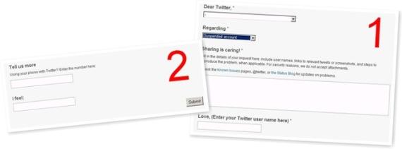 عرض الحسابات المعلقه في تويتر